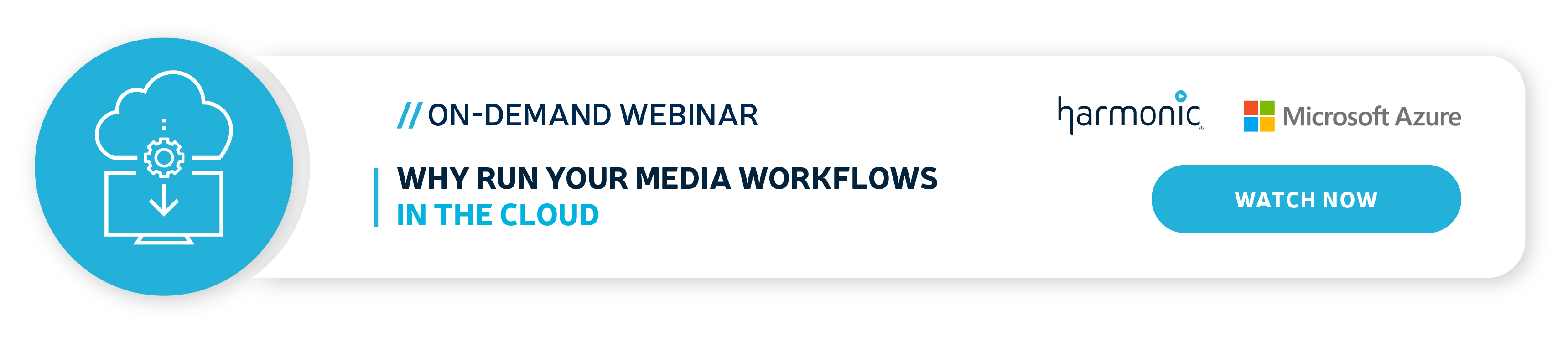 Media Workflows in the Cloud