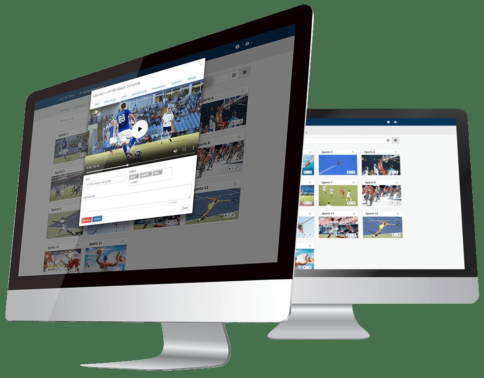 VOS360 Live Streaming Platform Harmonic